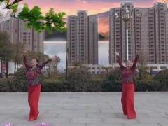 郏县花之舞广场舞《祝福千万家》编舞:张春丽