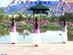 江川美子子龙明星队《故乡明月》编舞:饶子龙