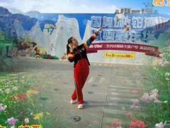 漓江飞舞广场舞 原创 新再唱支歌给党听 32步双人对跳舞教学