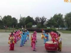宁波卖面桥村博彩官网-【安塞腰鼓】秀舞狂欢节·原创原音版