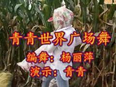 青青世界博彩官网 热爱舞到处是舞台《DJ各自安好》原创杨丽萍
