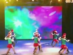 北京冬冬水兵舞 中国美 夕阳红