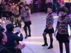 北京冬冬水兵舞三周年颁奖盛典节目:模特秀