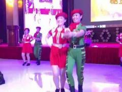 冬冬水兵舞三周年颁奖盛典节目:山东昌乐团队