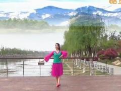 湖北黄梅厦安艺苑舞蹈队《雪》(雪山背景)