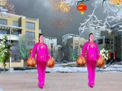 舞蝶博彩官网 欢乐中国年 彩球舞 含背面动作分解教学
