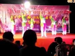 沙家浜唐市舞之韵广场舞《中国有个小地方》队形表演