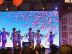 兰州晴空团队舞蹈《串烧一枝梅》表演众姐妹制作晴空