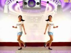 焦佐白雪广场舞【歌在飞】12步;附分解