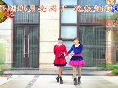 紫薇花广场舞《你不来我不老》双人舞