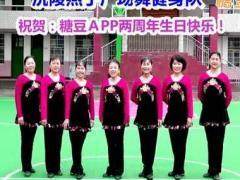 沅陵燕子广场舞 春天的约会 含背面动作分解教学