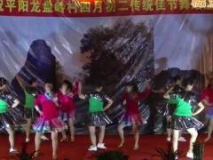广西桂林阳朔敏敏广场舞《你不来我不老》