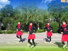 蝶舞翩翩广场水兵舞《水月亮》团队版  编舞:莉莉