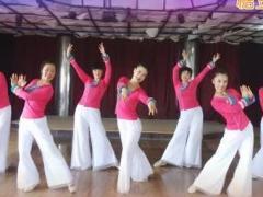 天姿广场舞 乌兰姑娘 含背面动作分解教学
