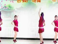 白狐广场舞【情路弯弯】原创16步对跳-附前后教学