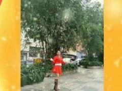 华之星广场舞【一晃就老了】韵律操,正背面演示阿华